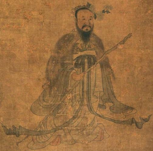 Цюй Юань. Фрагмент картины художника Чен Хуншоу