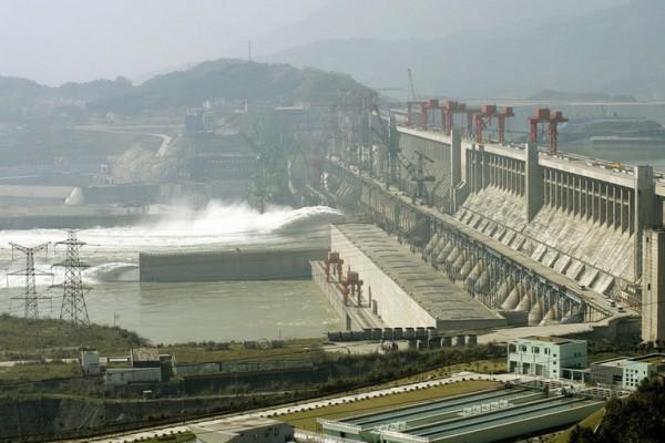 Гидроэлектростанция «Три ущелья».