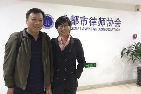 Известная китайская правозащитница, адвокат Ван Юй.