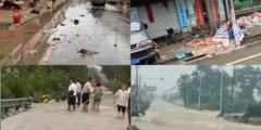 Наводнение в Китае создаёт города-призраки
