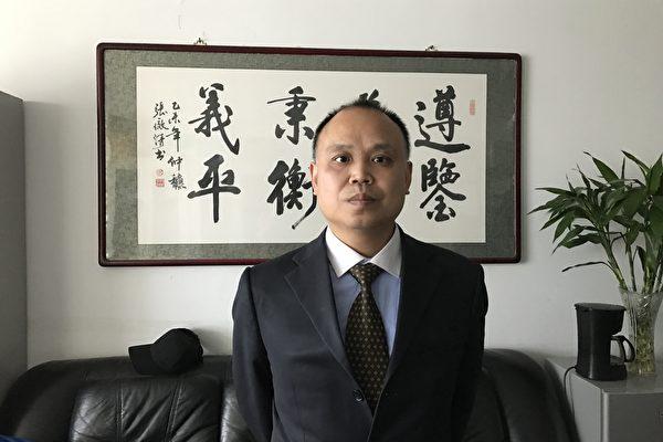 Адвокат-правозащитник Юй Вэньшэн.