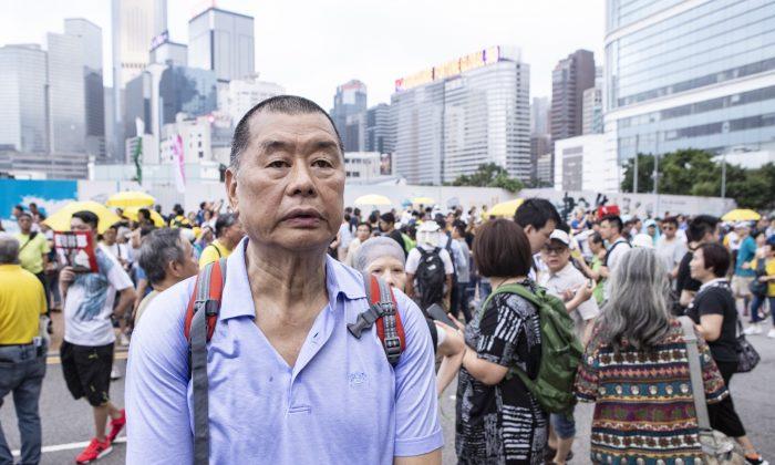 Гонконгский медиамагнат и борец за демократию Джимми Лай