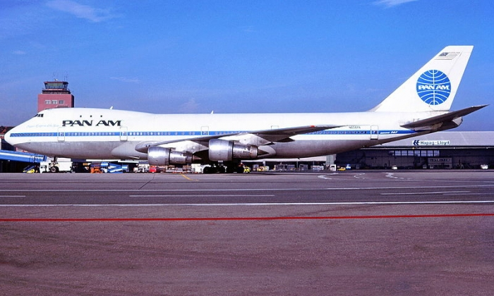 N 656PA, самолет, который пытались угнать. Январь 1985 г., аэропорт Гамбурга