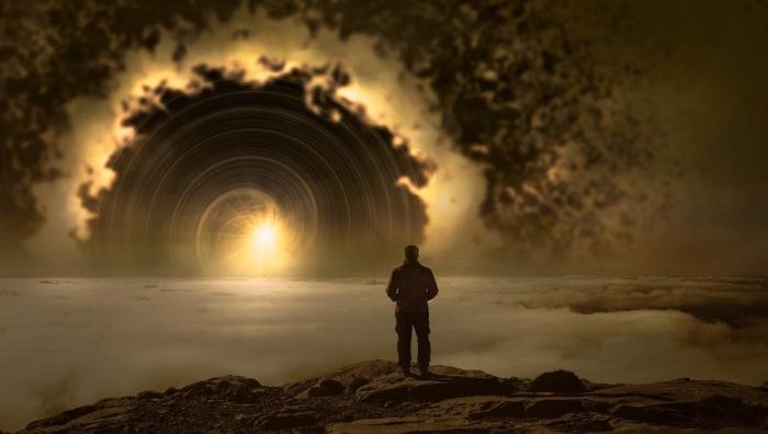свет в туннеле