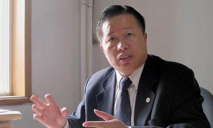 Адвокат-правозащитник Гао Чжишэн