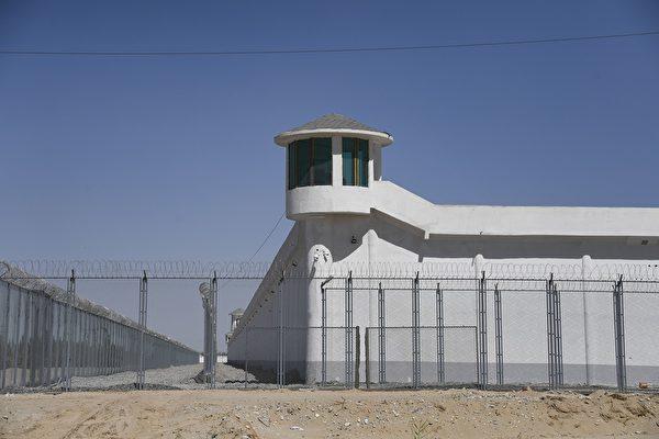 Сторожевая башня на объекте строгого режима Синьцзян-Уйгурский автономный район