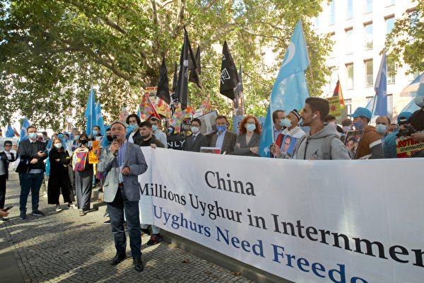 Асгар Джан, представитель Всемирного уйгурского конгресса, Берлин, 1 сентября 2020 года