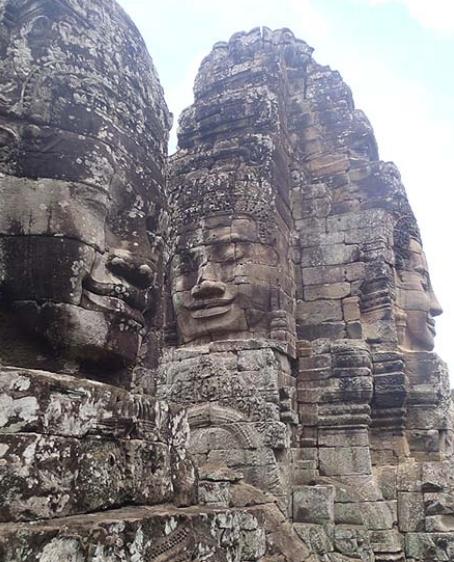 Каменные лица Храма Байон, Ангкор