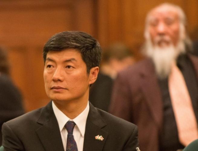 Лобсанг Сангай, глава Тибетского правительства в изгнании