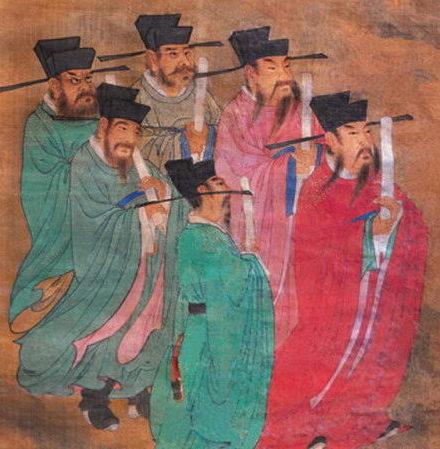«Чиновники при владыке подземного царства, ведущие учёт жизни и смерти», династия Мин