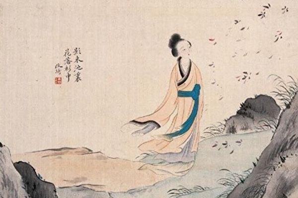 «Придворная служанка», Гай Ци, династия Цин