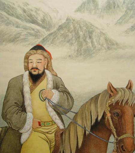 Великий хан Монгольской империи Чингисхан