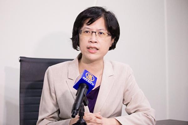 Чжу Ванци, представительница Тайваньской группы адвокатов Фалуньгун