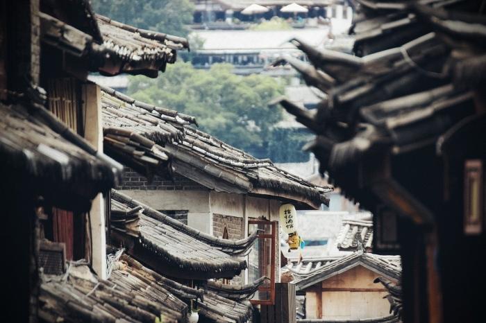 Старые дома, Китай
