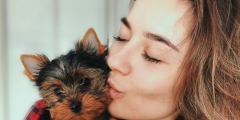 Девушка горевала по умершей собаке. Но знак в небе вернул ей покой