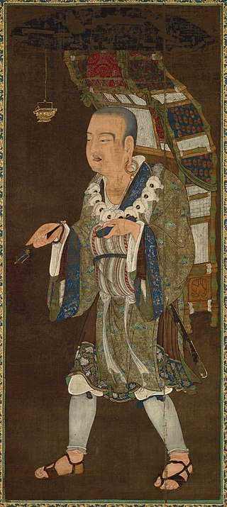 Китайский монах Сюаньцзан во время своего путешествия в Индию