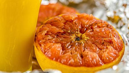 апельсин жареный