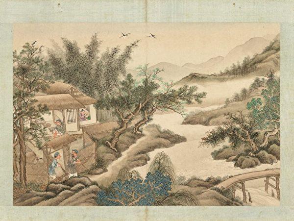 Люди в старину, династия Цин