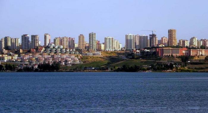 Город Адана и озеро Сейхан