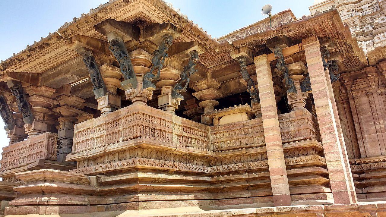 Храм Рамаппа в Индии