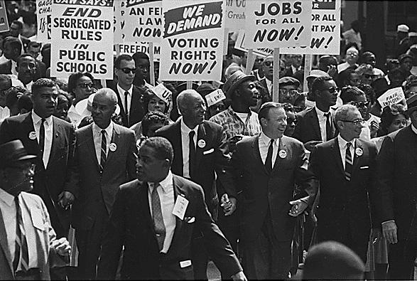 Движение за гражданские права в Вашингтоне, март 1963 года