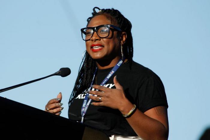 Соучредитель Black Lives Matter Алисия Гарза