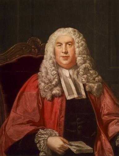 Портрет английского юриста сэра Уильяма Блэкстона (1723-1780)