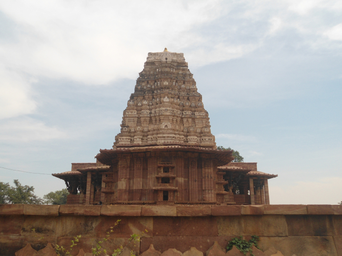 Башня храма Рамаппа