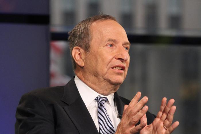 Бывший министр финансов Ларри Саммерс в студии FOX, Нью-Йорк, 30 января 2015 года