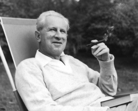 Герберт Маркузе в Ньютоне, Массачусетс, 1955 год