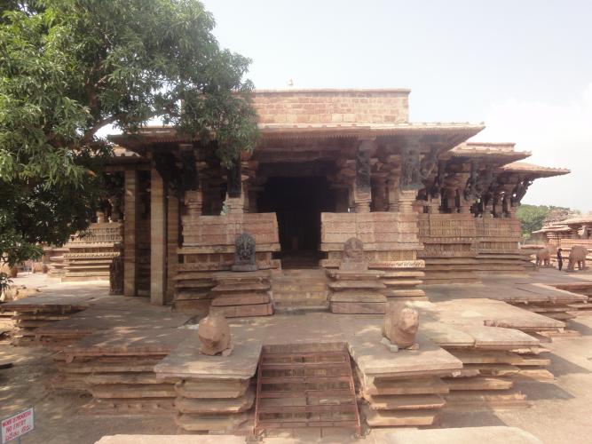 Общий вид Храм Рамаппа