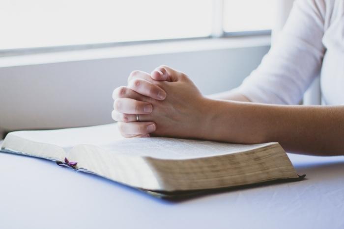 Руки сложенные в молитву