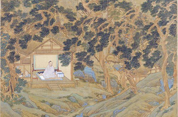 «Иллюстрации персонажей древности», Цю Ин, династия Мин