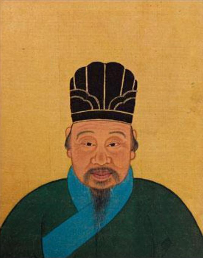 Изображение Ло Луня из династии Мин