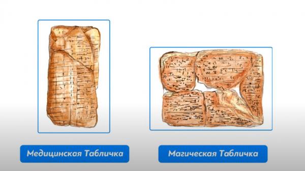 Клинописные таблички Вавилона