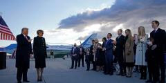 Трамп выступил с прощальным обращением к нации