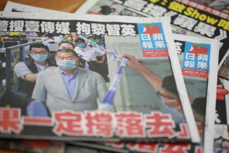 Джимми Лай делает заголовки в своей собственной газете и стоит плечом к плечу с народом Гонконга в трудную минуту.