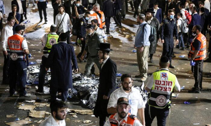 Десятки людей погибли в давке на израильском религиозном фестивале