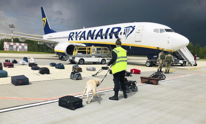 Минск получил письмо о бомбе после разворота самолёта Ryanair