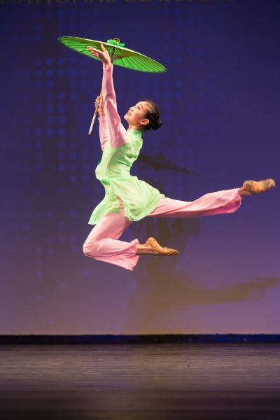 Мишель Лиан выиграла Золотую награду младшего дивизиона на Международном конкурсе классических китайских танцев NTD в 2016 году.