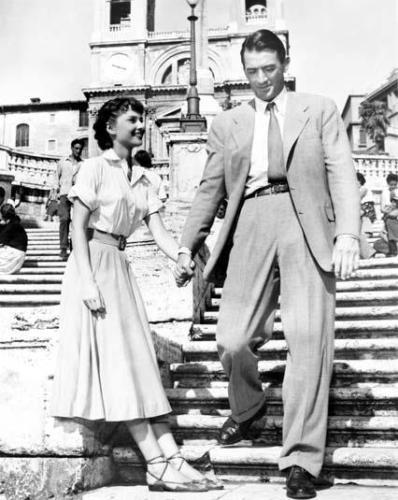 Одри Хепберн , наряд, оскар, фильм, римские каникулы