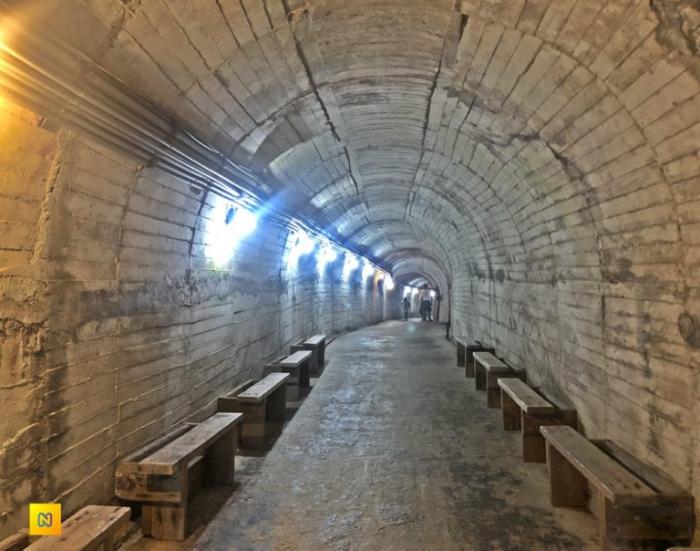 Военный туннель длиной 800 метров на Черепашьем острове.