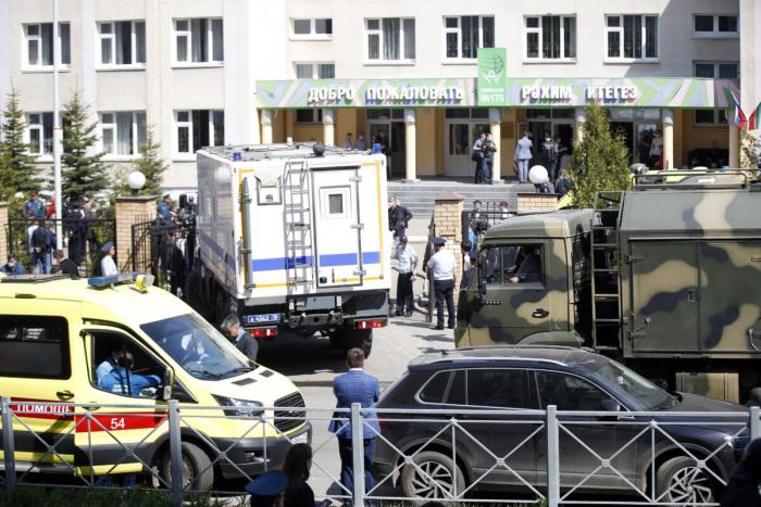 Стрельба в школе в Казани. Погибли 9 человек