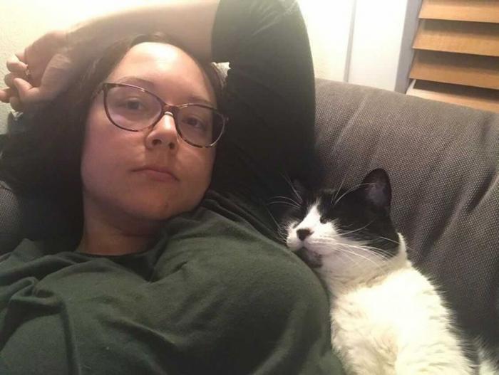 женщина, кот, рак груди
