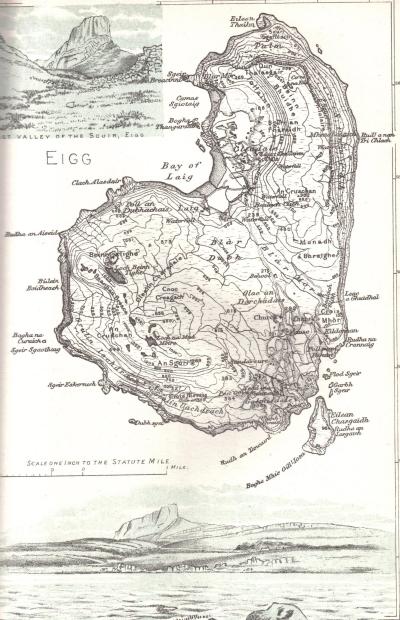 Прогулка на остров Эгг