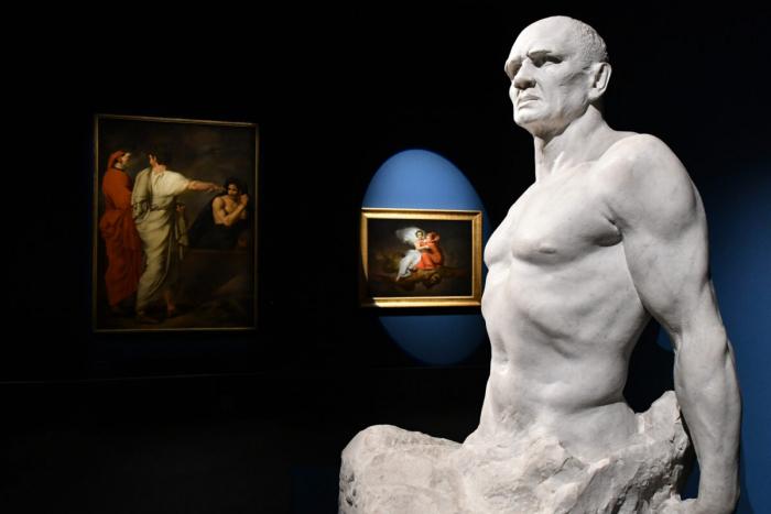 «Фарината Урберти», 1901–1903 гг., Карло Фонтана. Мрамор. Национальная галерея современного искусства, Рим.