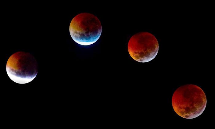 Кровавую суперлуну и полное лунное затмение покажут 26 мая