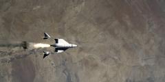 Британский миллиардер запустил частный корабль с людьми в космос