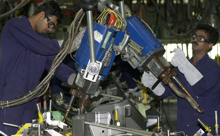 Рабочие, Ford, индия, завод