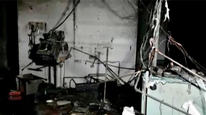 индия, пожар, оборудование, мебель